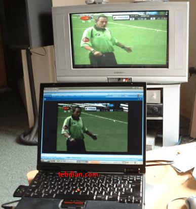 hubungkan laptop ke televisi