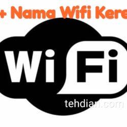 nama wifi keren