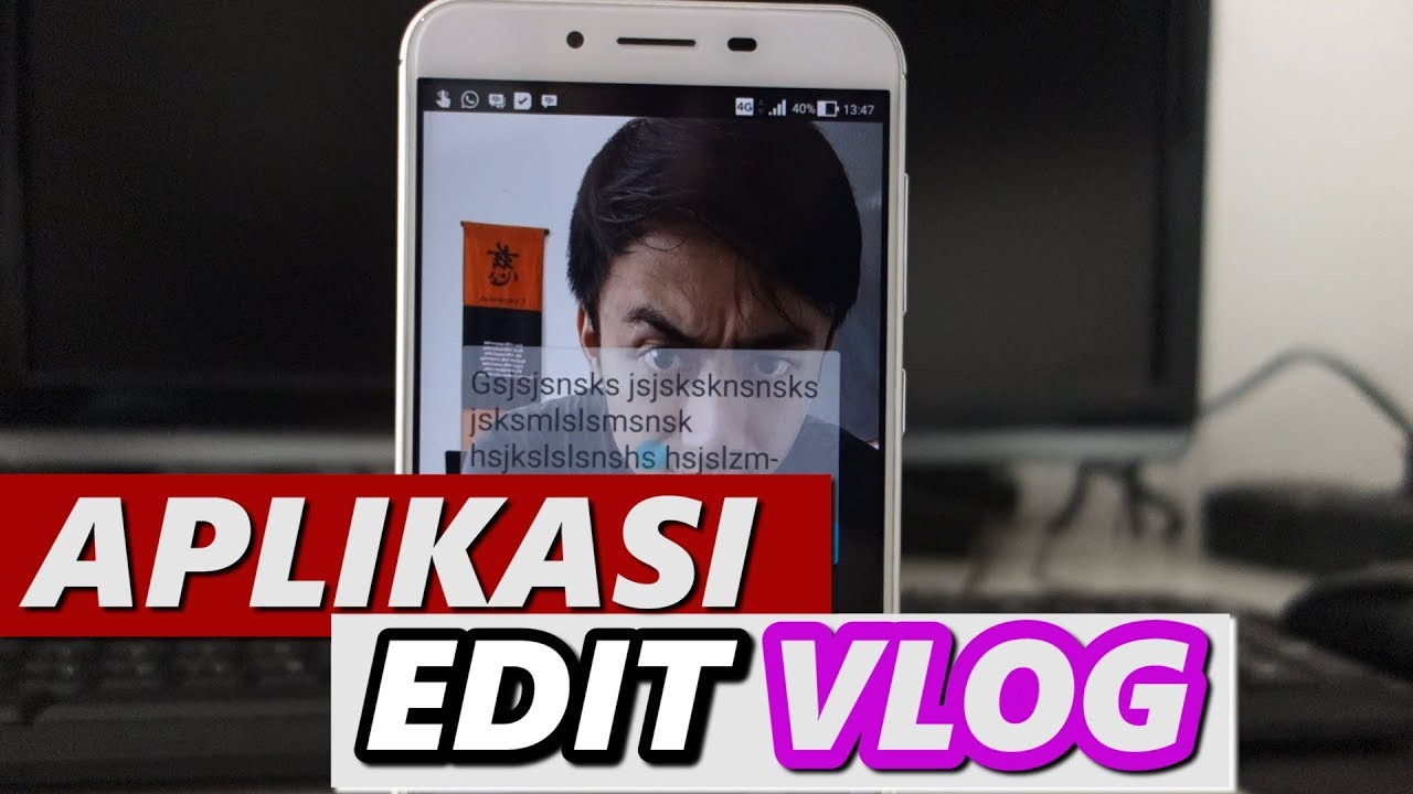 aplikasi edit video vlogger