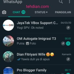 Dark mode whatsapp