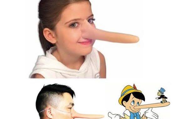 Aplikasi hidung panjang