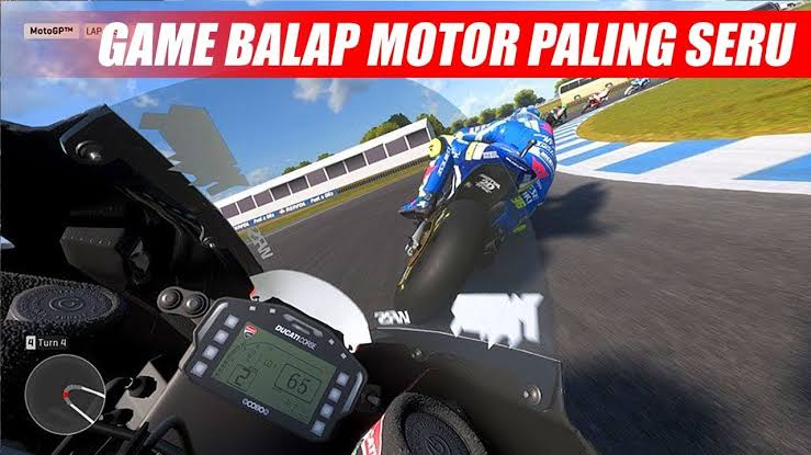 Game balap motor pc