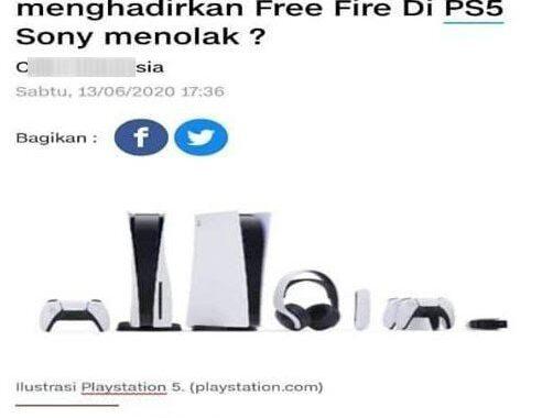 Sony menolak free fire
