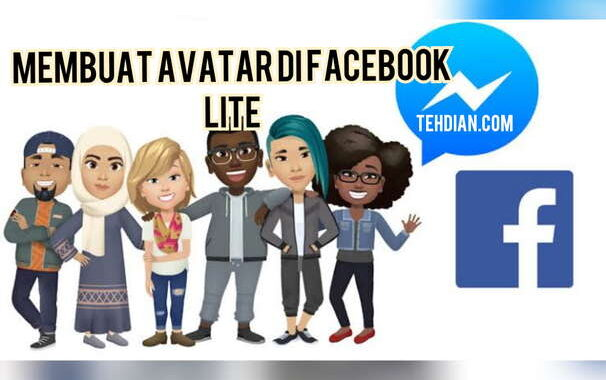 Apembuatan avatar facebook lite