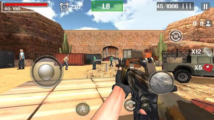 Guns killer Battle Royale Android mirip pubg