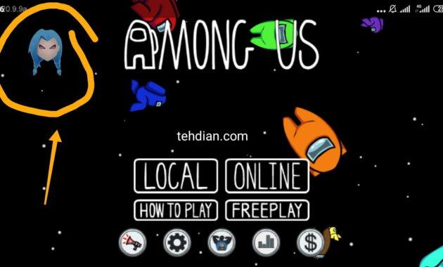 Logo pop up logo menu mod among us