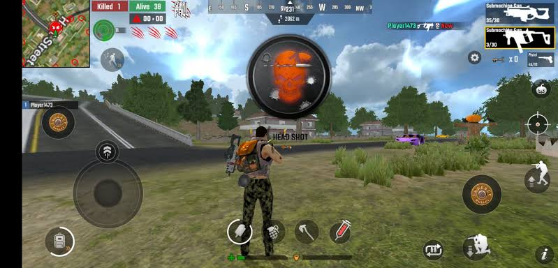 Scarfall Game Offline Mirip PUBG