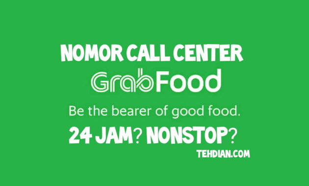 Nomor call center grabfood