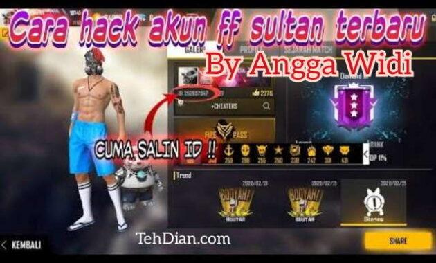 Hack Akun Free fire by Angga Widi