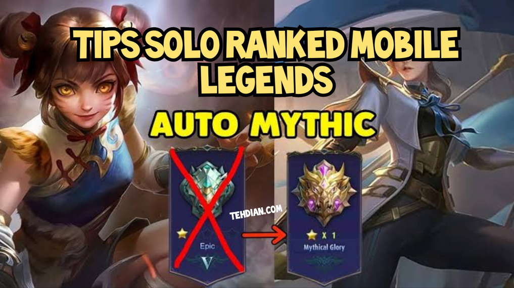 Tips Solo Rank Mobile Legends