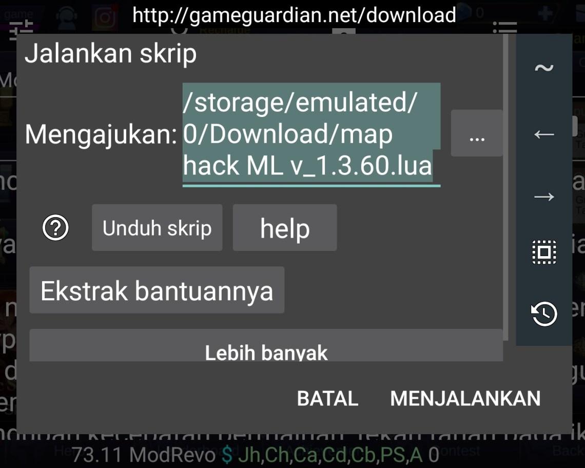 Update!!] Cara Cheat Radar Map Mobile Legends Terbaru patch