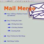Pengertian, Fungsi dan Tahap membuat Mail Marge pada Microsoft Word