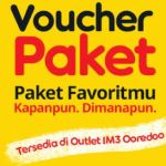 Cara memasukan kode voucher indosat untuk Aktivasi Paket Internet