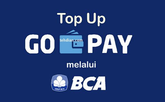 top up gopay melalui bank BCA