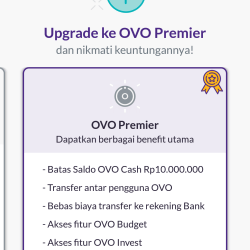 upgrade ovo club ke premier