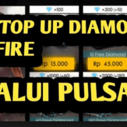 cara top up diamond ff lewat pulsa