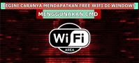 cek password wifi cmd