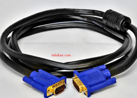 menghubungkan laptop ke televisi menggunakan kabel vga