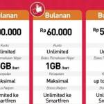 Cara cek kuota smartfren unlimited 60 ribu