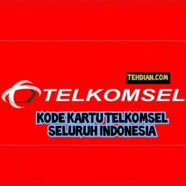 Kode kartu telkomsel seluruh Indonesia