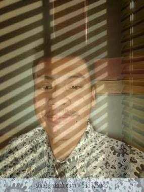 Membuat efek sun blinds