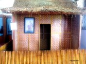 An example traditional house in Banten Lama Museum