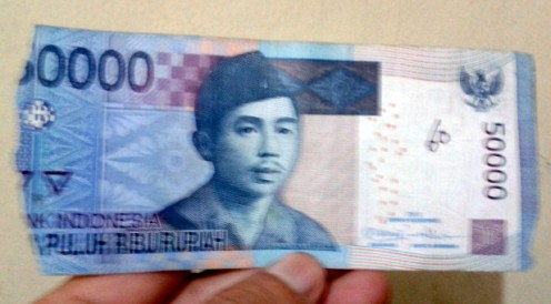 torn money, even from ATM