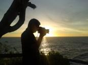 hunting sunset