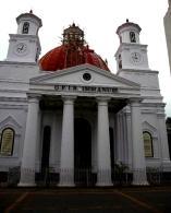 Blenduk Church, one of the old church in Semarang Central Java