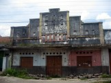 ancient building in semarang city abandoned by its owner