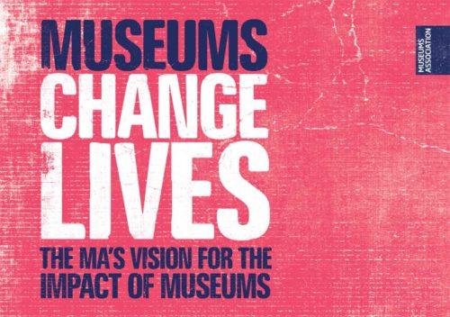 Museums Change Lives logo