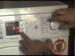 Коды ошибок стиральных машин Бош