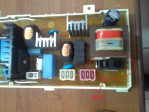 Плата управления стиральной WD 10180S