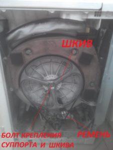 Внутренняя часть машины