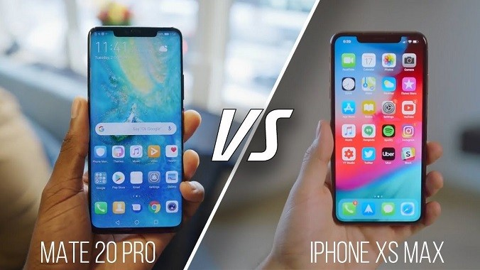 huawei mate 20 pro vs iphone xs