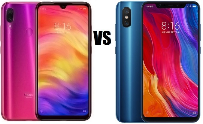 redmi note 7 vs xiaomi mi 8