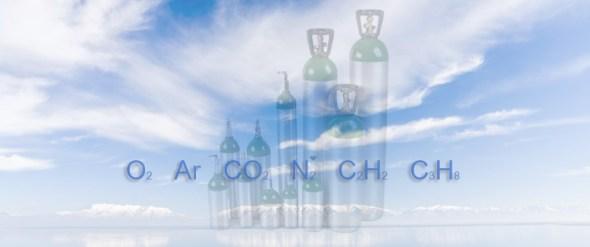 Gaze tehnice butelie argon azot acetilena dioxid de carbon oxigen propan