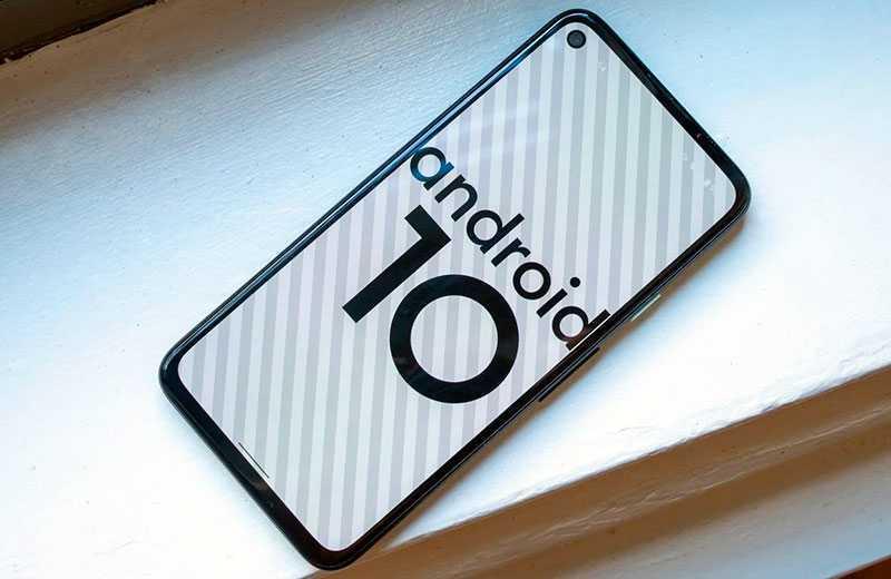 Google Pixel 4a ОС
