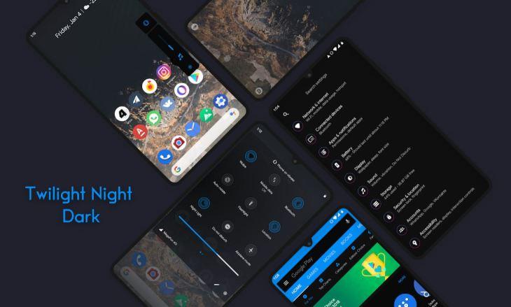 Android 10 Substratum для любого устройства Android