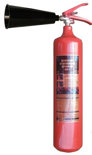 Огнетушитель углекислотный ОУ-3 Вогнегасник вуглекислотний ВВК-2