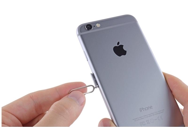 IPhone-да SIM картасы ұясы
