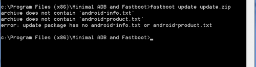Equipe Fastboot Android