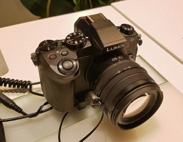G80 utegne biti spodobna naprava tako za fotografe kot za snemalce.
