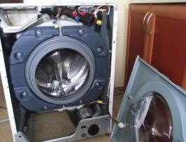 Замена блока подшипников на стиральной машине