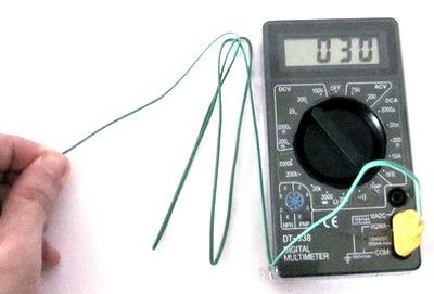 Izmerenie temperatury multimetrom
