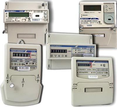 Виды электрических счетчиков - Всё о электрике