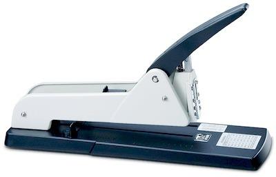 Как пользоваться большим степлером для бумаги