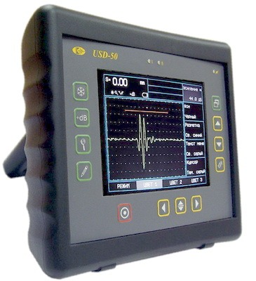 Defektoskop akusticheskii
