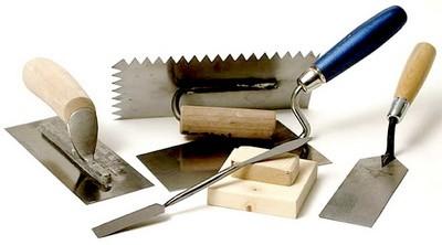 Штукатурный инструмент. Виды и применение. Особенности