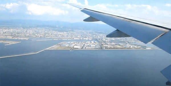 Кансай Япония с высоты